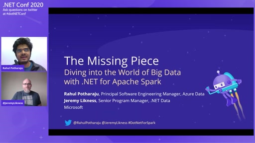 The Missing Piece - Diving into the World of Big Data with .NET for Apache Spark