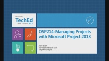 Managing Projects with Microsoft Project 2013