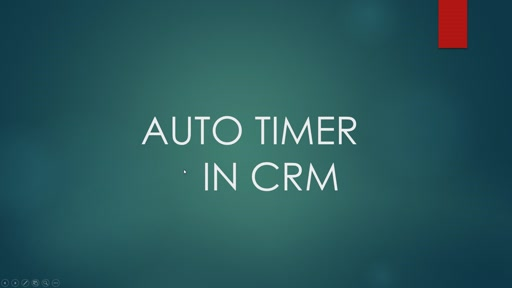 CRM Timer Control