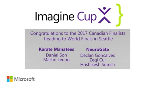 2017 Imagine Cup Canada National Final