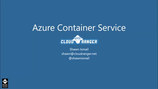 Getting started with Azure Container Service