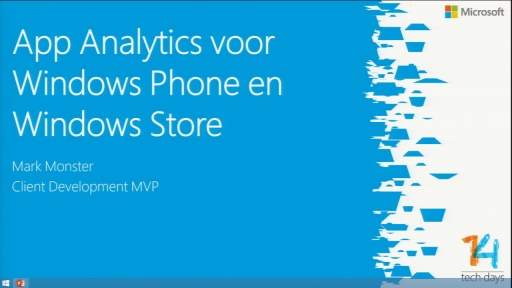 App Analytics voor Windows Phone en Windows Store