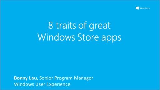 8 traits of great Windows Store apps