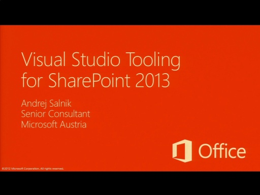 Katapult.07: Die neue Office Plattform - Deep Dive - SharePoint 2013 App Development