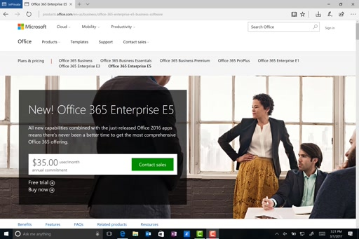 Creating an Office365 Tenant