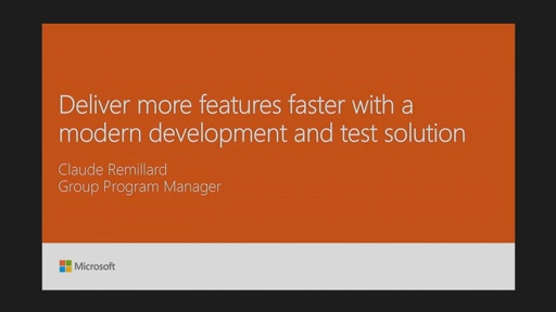 Deliver more features faster with a modern development and test solution