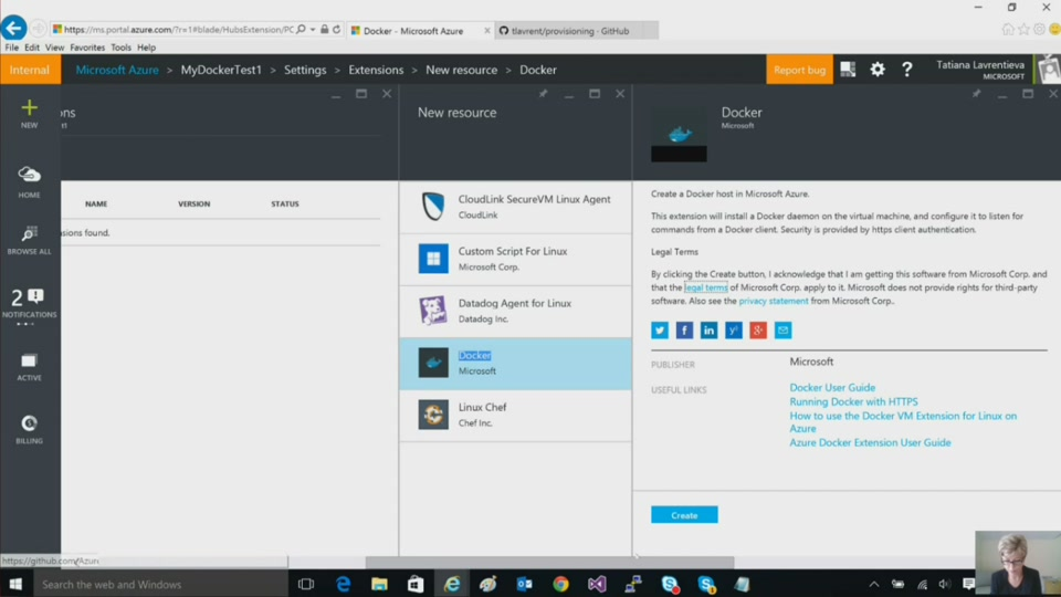(Part 5) Open Source + Microsoft Azure - Deploying Linux Containers in the  Cloud with Docker and Azure