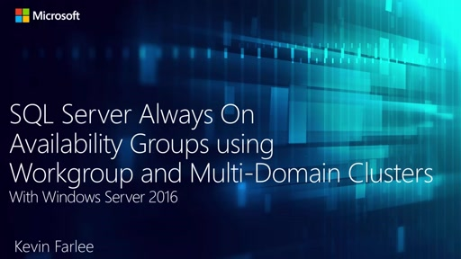 SQL Server 2016 and Windows Server 2016 - Better Together