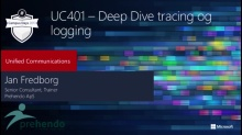 Lync Server 2013 – Deep Dive tracing og logging