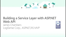 Building a Service Layer with ASP.NET Web API