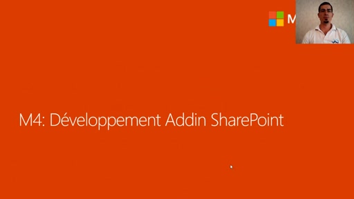 04 - Développement d'un Add-in SharePoint