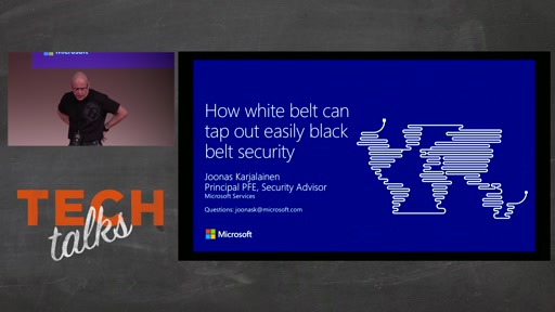 Tech Talks 2016 Citrix Stage How White Belt can tap out easily black belt security