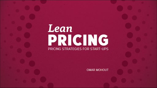 Lean Pricing (sesión en inglés)