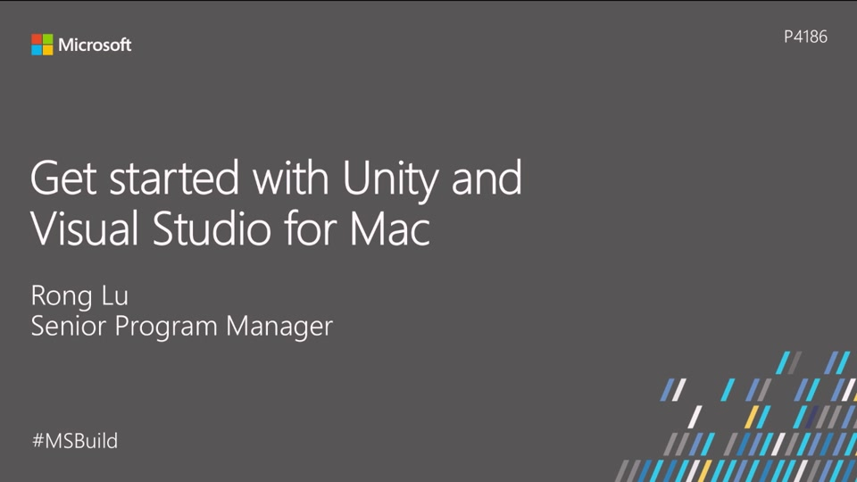 Get started with Unity and Visual Studio for Mac