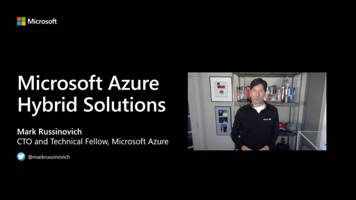OPS100 ITOps Talks: All Things Hybrid - Mark Russinovich Microsoft Azure Hybrid Solutions