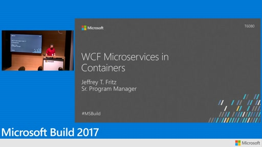 WCF microservices in containers