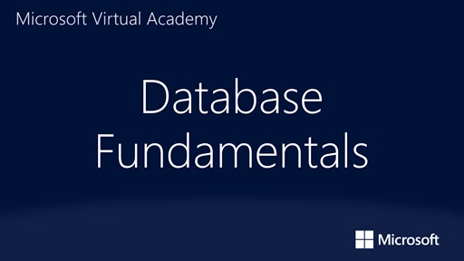 Database Fundamentals: (01) Introducing Core Database Concepts