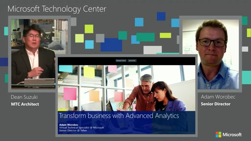 2015-08-20 MTC Studio Advanced Analytics