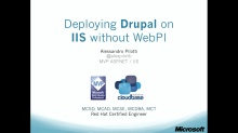2. Deploying Drupal Without Web Platform Installer