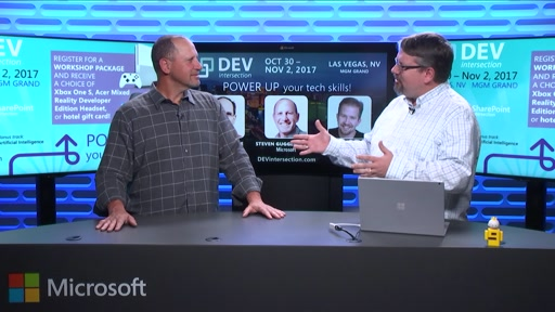 DEVintersection Countdown Show on the new Artificial Intelligence Group at Microsoft with Steve Guggenheimer