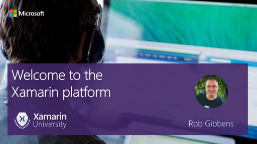 Module #1 - Introduction to Xamarin Platform