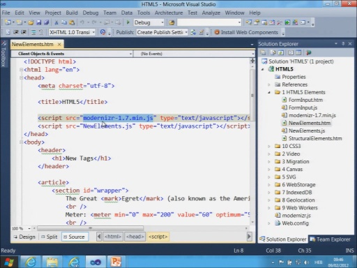 Web Applications with HTML5, CSS3 and JavaScript - Part 1