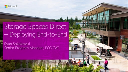 Storage Spaces Direct - Deploying End-to-End