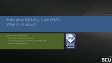 Enterprise Mobility Suite – What it's all about  Part 1?