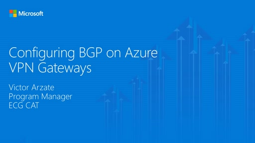 BGP for VPN Part 3 - Configure BGP on Azure VPN Gateways via PowerShell