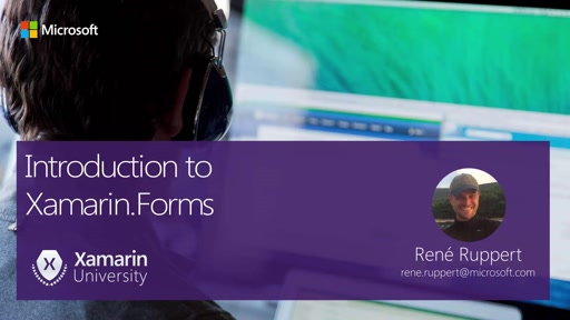 Module #2 - Introduction to Xamarin.Forms