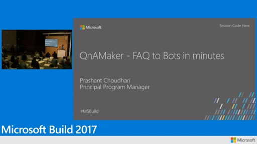 Distill information into conversational, easy to navigate answers with Microsoft Cognitive Services QnA Maker