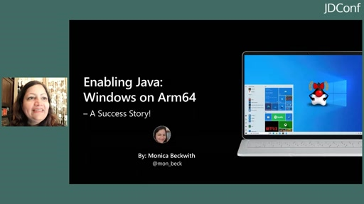 Enabling Java: Windows on Arm64 – A Success Story!