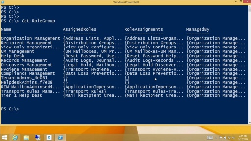 Managing Exchange Online Using PowerShell: (05) Configuring Administrative Security