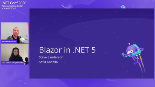 A talk for trailblazers: Blazor in .NET 5