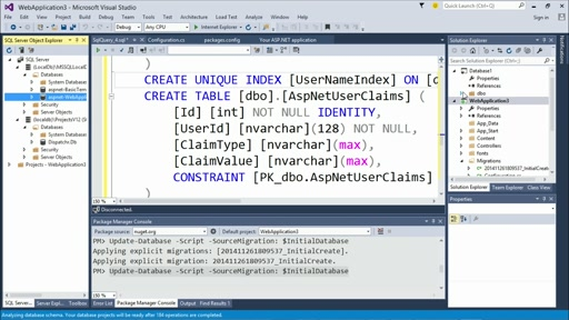 Customizing ASP.NET Authentication with Identity: (02) Locally Authenticated Users