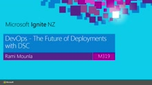 DevOps - The Future of Deployments with DSC