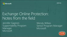 Exchange Online Protection: Notes from the field