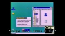 Windows 95 Usability Testing - 1993