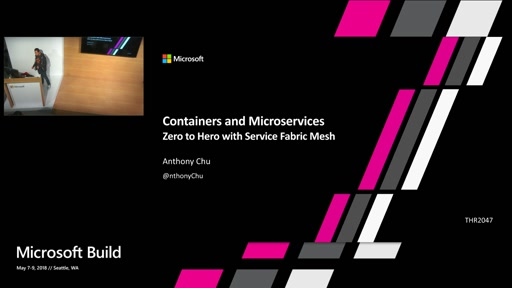 Containers and microservices: Zero to Hero with Service Fabric