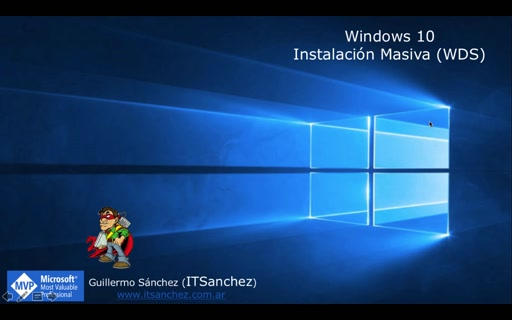Capturar imagen Windows 10 en Servidor WDS