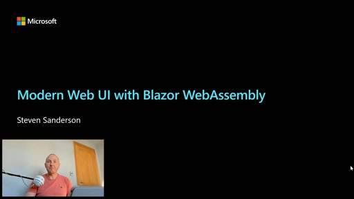 Modern Web UI with Blazor WebAssembly