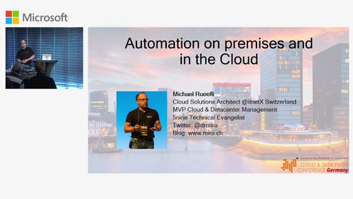 Automatisierung on-Premises und in der Cloud