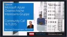 Azure Community Call - November
