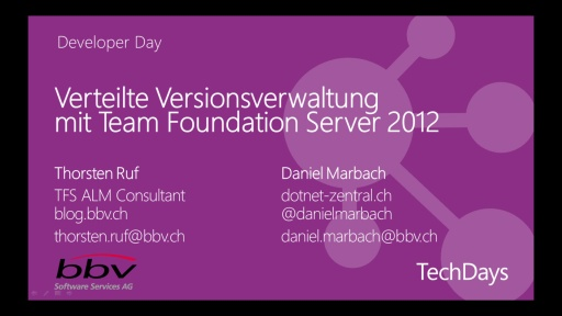 Verteilte Versionsverwaltung mit Team Foundation Server 2012