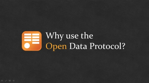 OData: Why use the Open Data Protocol?