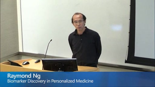 Biomarker Discovery in Personalized Medicine