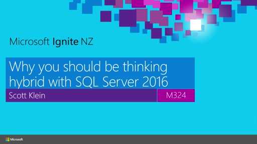 Why you should be thinking Hybrid with SQL Server 2016