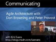 Turner Broadcasting - Agile Architecture with Don Browning and Peter Provost