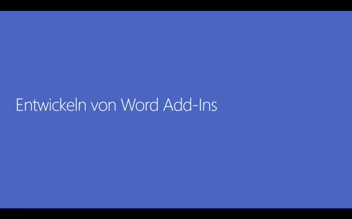 Office 365 Add-Ins - 03 - Word-Add-Ins
