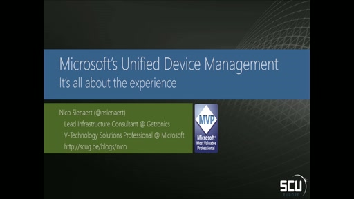 Unified Device Management - It's all about the experience